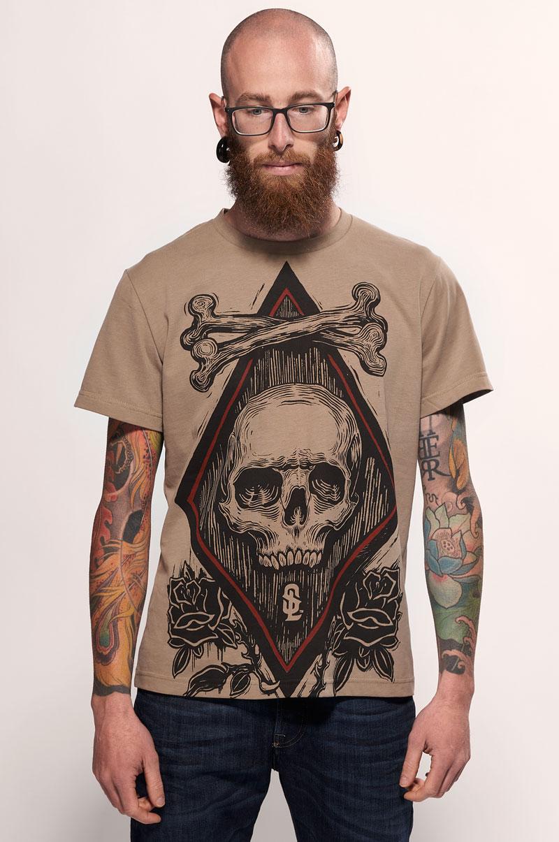 Crossed Bones T Shirt Snake Legend