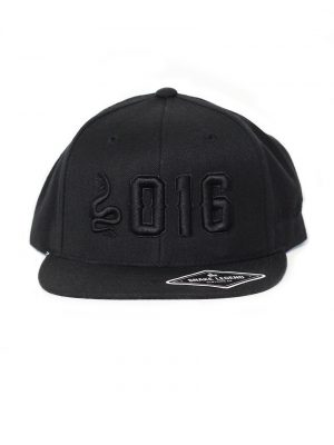 S016 snapback black snake legend