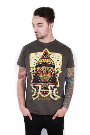 around the world men t-shirt snake legend