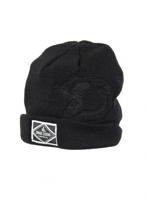 Short Black Beanie Sneak Legend