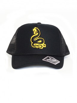 snake summer baseball trucker black
