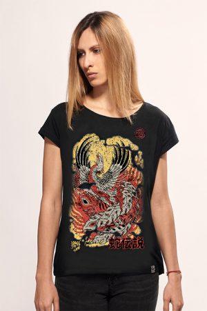 fenix black women snake legend t-shirt