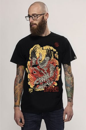 fenix men t-shirt snake legend
