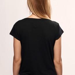 fenix black women snake legend t-shirt back side