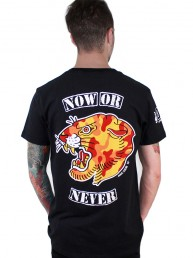 now or never men tee snake legend