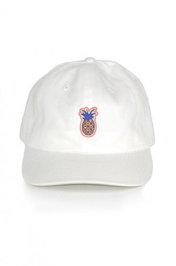 white pinapple cap snake legend front