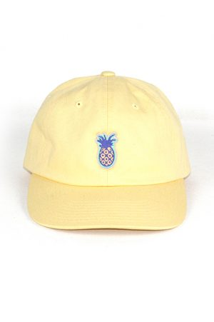 pineapple yellow cap snake legend front