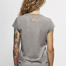 snake legend women collection grey shirt back side