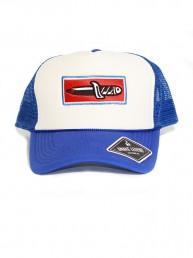 knife summer blue baseball trucker