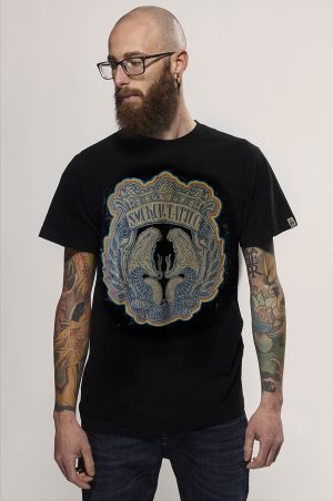 smokov tattoo t-shirt black snake legend