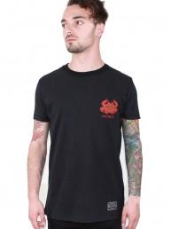 spirit men t-shirt black snake legend