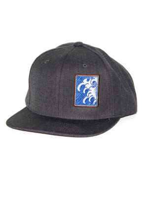 snapback dark gray Snake Legend