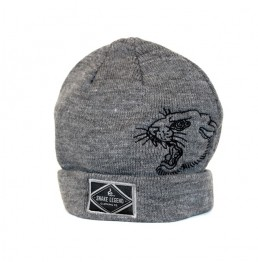 snake legend winter beanie greay panther head