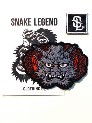 grey demon patch by snake legend