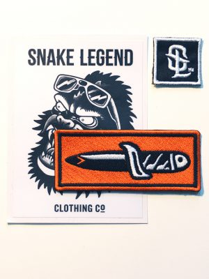 knife patch snake legend