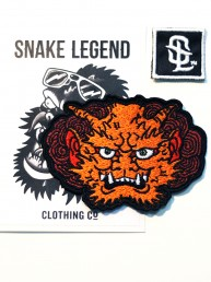 orange demon patch by snake legend