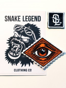 one eye patch by snake legend