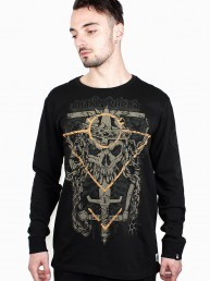 immortal snake legend black long sleeve shirt men